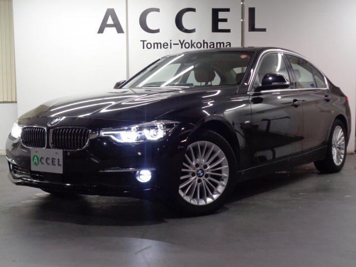 BMW 320i ラグジュアリー ACC ブラウンレザー/ヒーター 純正ナビ/カメラ レーンチェンジウォーニング LEDヘッドライト