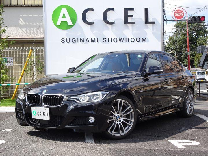 BMW 320I Mスポーツ ACC ブラウンレザー/ヒーター 純正ナビ フロント&バックカメラ コンフォートアクセス オプション19インチアルミ 後期8Aモデル