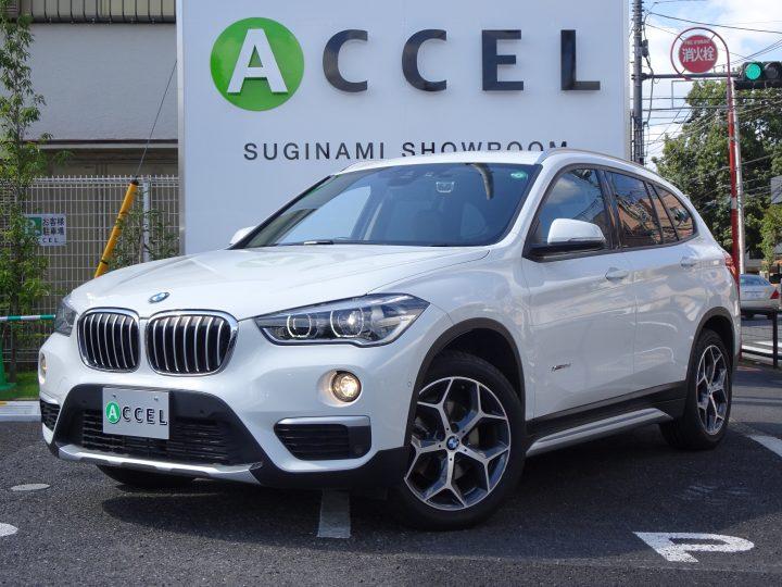BMW X1 xDrive18d Xライン インテリジェントS ブラックレザー/シートヒーター 純正ナビ/バックカメラ 電動テールゲート コンフォートアクセス
