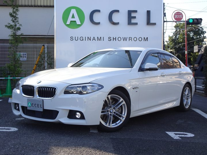 BMW 523i Mスポーツ ACC レーンデパーチャー&レーンチェンジウォーニング 純正ナビ/TV フロント&バックカメラ コンフォートアクセス