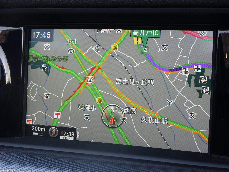 COMANDシステムの多彩な機能を備えたHDDナビ&フルセグTV。Bluetoothオーディオも接続可能です!