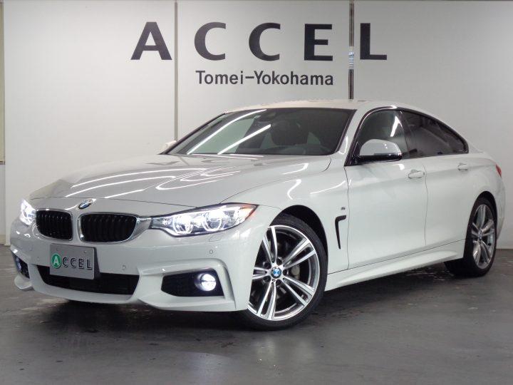 BMW 435iグランクーペ Mスポーツ ACC 左ハンドル ブラックレザー/ヒーター LEDヘッドライト ヘッドアップディスプレイ Mスポーツエアロ&19インチアルミ