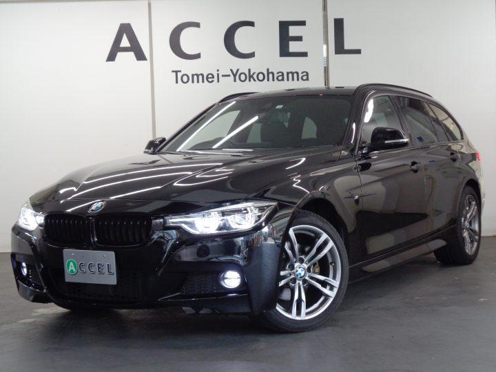 BMW 320iツーリング xDrive Mスポーツ ACC フルタイム4WD レザーシート/ヒーター 純正ナビ/カメラ Mスポーツエアロ&18インチアルミ 電動テールゲート