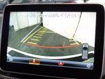 パーキングアシスト付きのリアビューカメラ!ステアリング操作に連動して予測進路をモニターで表示!