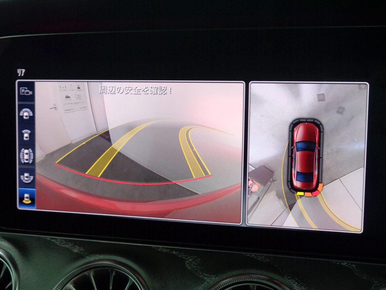 真上から自車を見下ろすように、周囲の状況を映像で把握できる360度カメラシステム!
