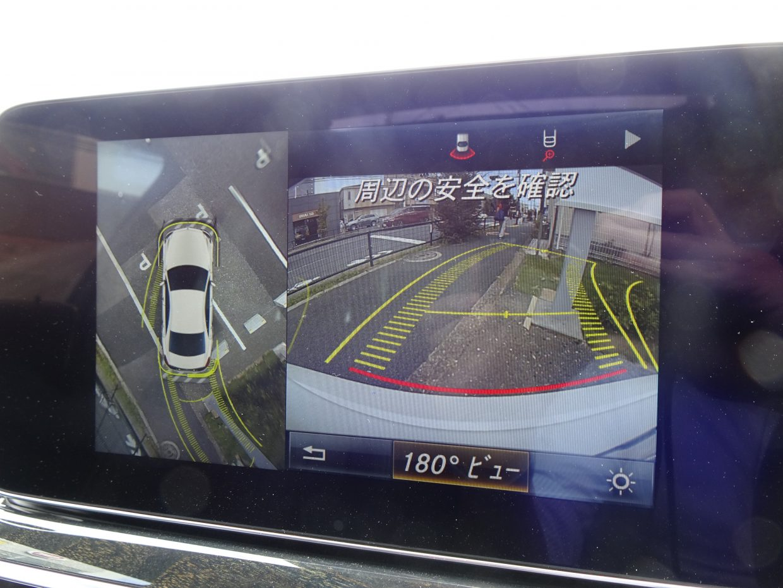真上から自車を見下ろすように、周囲の状況を映像で把握できる360°カメラシステム!