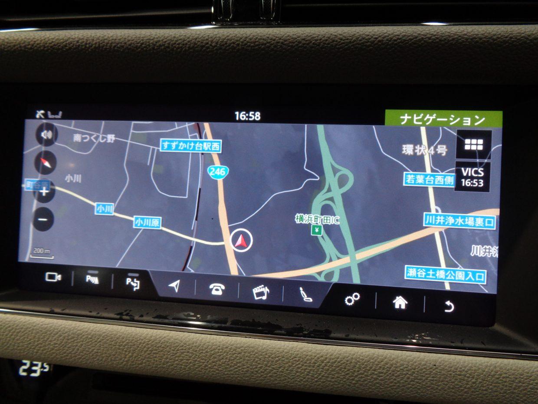 純正HDDナビ&フルセグTV!スマートフォン感覚の操作ができる10.2インチ静電式タッチスクリーンのインフォテインメント・システム「InControl Touch Pro」!