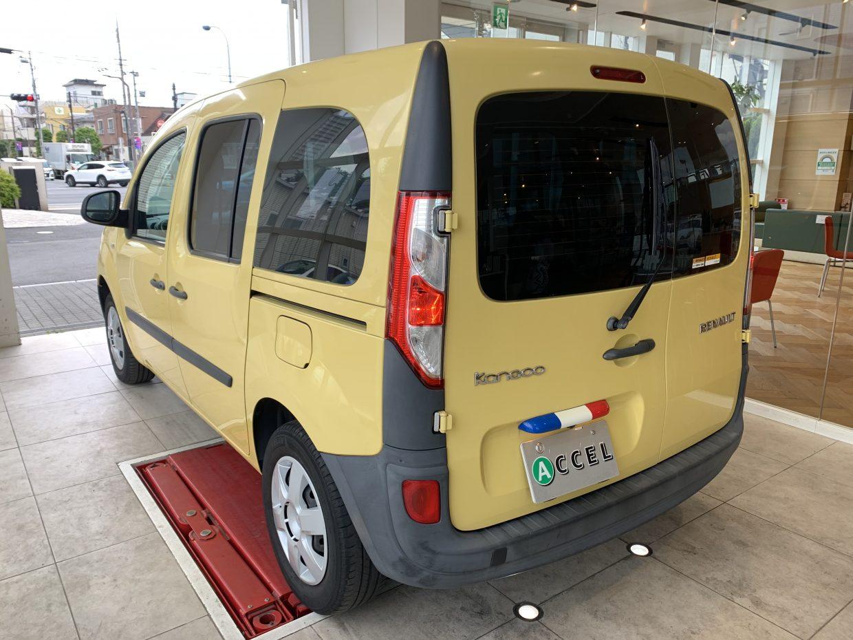 日本におけるルノー車イチの人気モデル「カングー」!