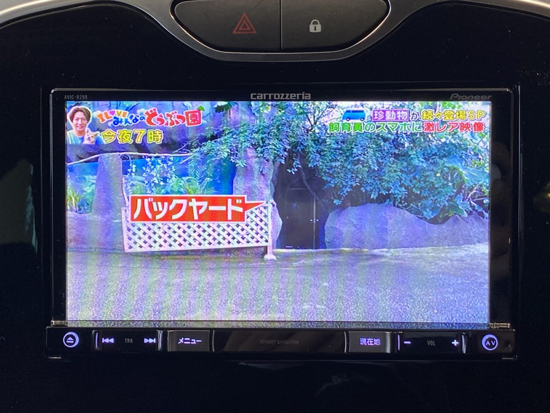地デジ視聴も可能で走行中も見れます!