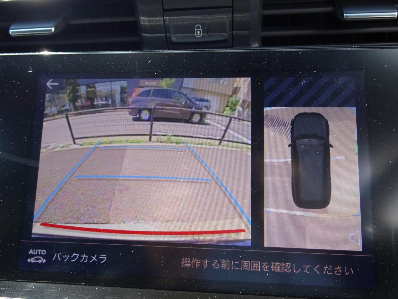 バックカメラ付き!モニターで後方確認できるので車庫入れが苦手な方も安心です!
