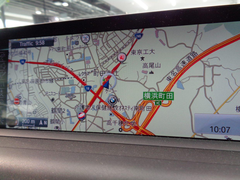 iDriveコントローラーで操作する純正ナビ&TV!8.8インチのワイド型液晶モニター!