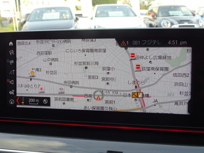 純正HDDナビ&フルセグTV!iDriveで操作する10.2インチの大型ディスプレイです!