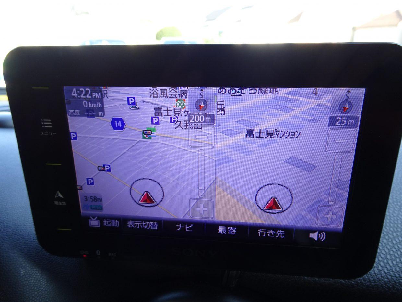 純正メモリーナビ/ワンセグTV搭載!